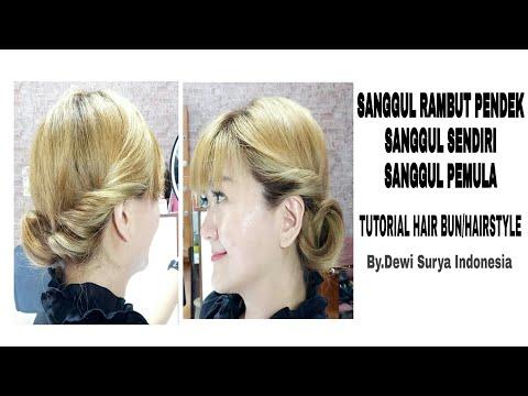 Tutorial Rambut Sanggul Untuk Rambut Pendek