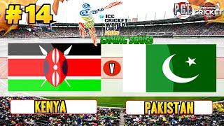 ICC Cricket World Cup 2015 (Gaming Series) - Pool A Match 14 Kenya v Pakistan
