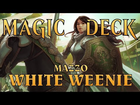 MtG ► MAGIC DECK - Modern White Weenie Knights [May 2018]