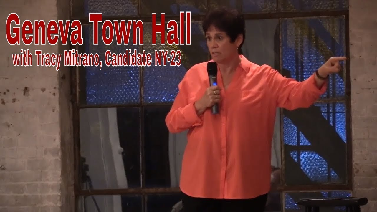 Mitrano launches 'One District' campaign, holds forum in Geneva (video)