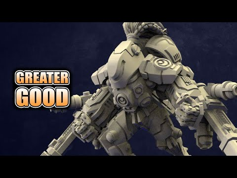 Tau Greater Good & Ork Beast Alternatives To GW: Wargame Exclusive