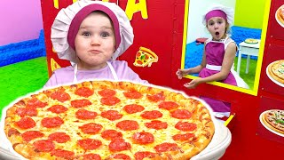 Restaurant and Kitchen Toys Nursery Rhymes with Five Kids