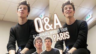 Shawn Mendes ILLUMINATE WORLD TOUR Q A, Paris FR.mp3