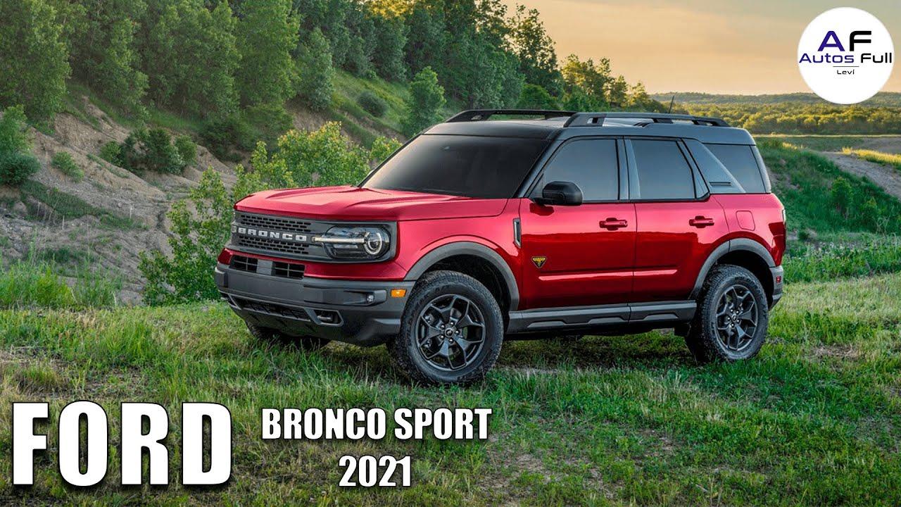 Ford Bronco Sport 2021 | Este es el Mejor SUV 4x4 de Ford ...