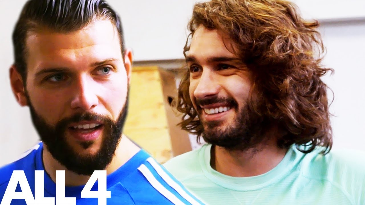 Tattoo Fixers Jay Hutton Pushed To The Limit By Joe Wicks Celebrity Body Coach