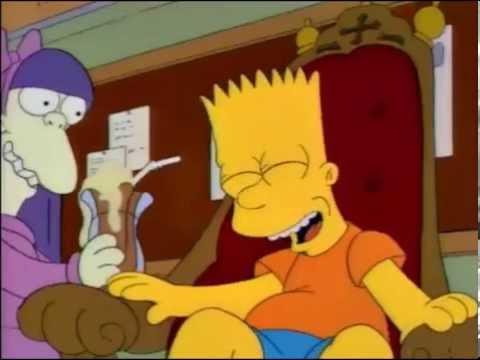 Los poderes mentales de Bart (Parte 1/2) Los Simpson
