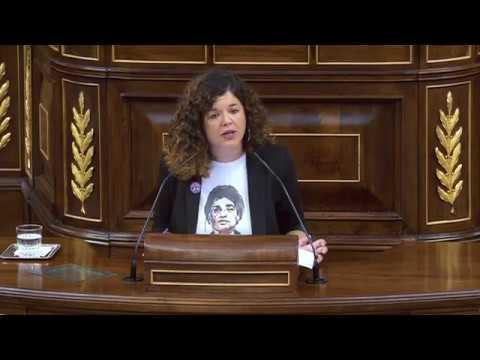 Sofía Castañón en Sesión Plenaria el 17-09-2019