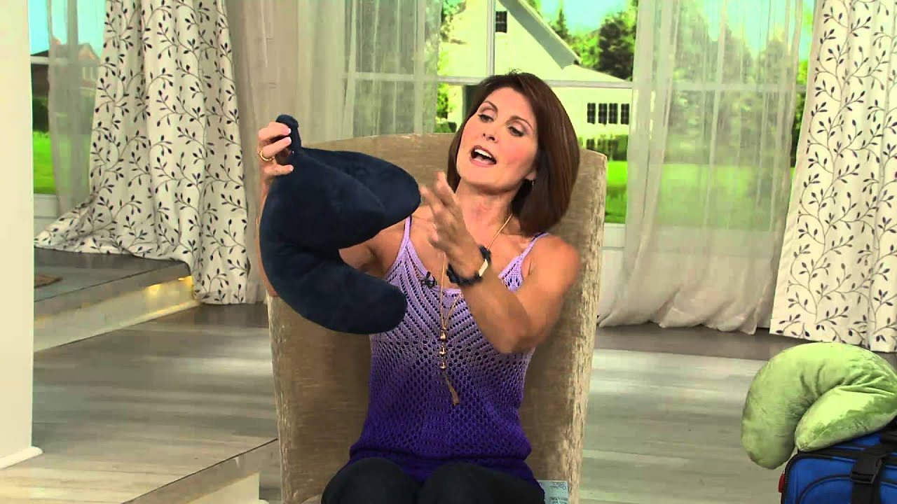 wow pillow versatile home and travel pillow with albany irvin youtube. Black Bedroom Furniture Sets. Home Design Ideas