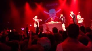 Natos y Waor ft Denom y Chele  - ROCKNROLLAS + CHLOROFORMO (Concierto Escenario de Santander)