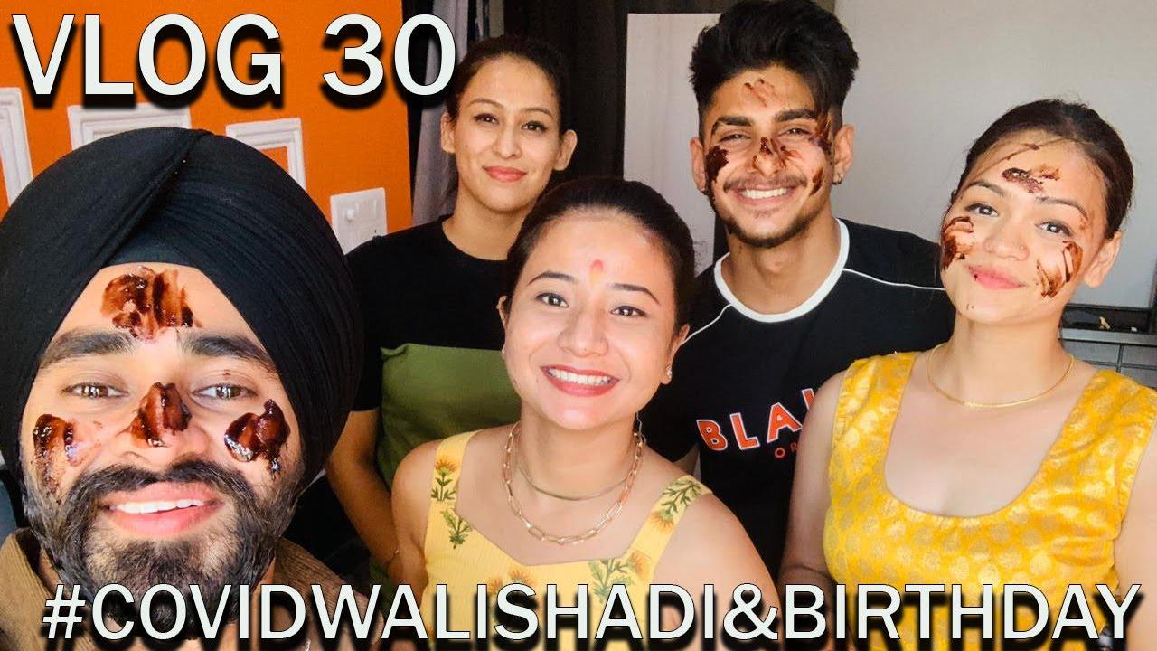 VLOG 30 | Covid Wali Shadi & Dj Birthday | Pradeep Bisht Vlog