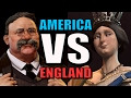 AMERICA VS ENGLAND!! | Civilization 6: AI Only 1v1 [Civ 6 Gameplay] Teddy VS Victoria!