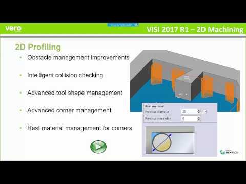 VISI 2017 R1 CAM Webinar