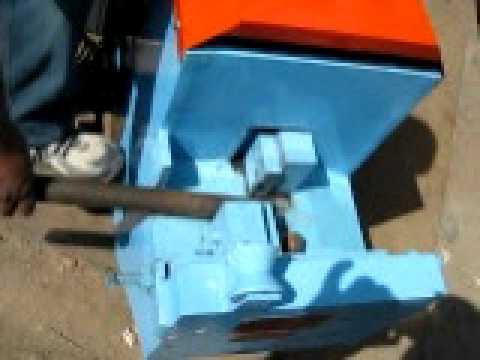 Bar Cutting Machine Hydraulic Bar Cutting Machine Youtube