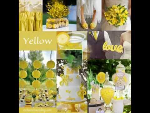 Yellow wedding decor ideas youtube yellow wedding decor ideas junglespirit Image collections