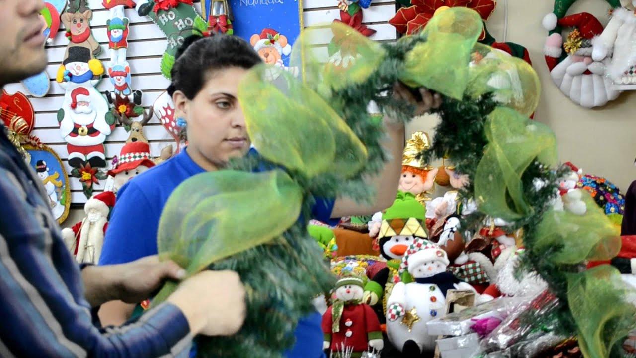 Guirnalda youtube - Como hacer guirnaldas de navidad ...