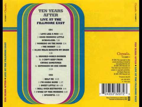 Ten Years After Working On The Road Live At The Fillmore East 1970 Youtube