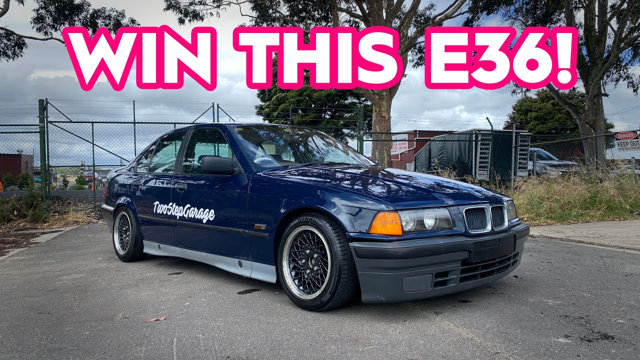 E36 GIVEAWAY ANNOUNCEMENT!