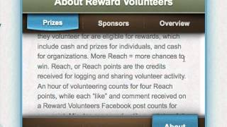Reward Volunteers with this Mobile App!