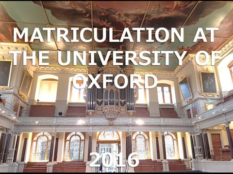 VLOG// Matriculation at Oxford University  - Bree's Oxford Diary