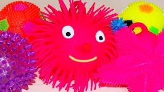 Rubber toys for children glow in the dark, игрушки резиновые светятся и мигают