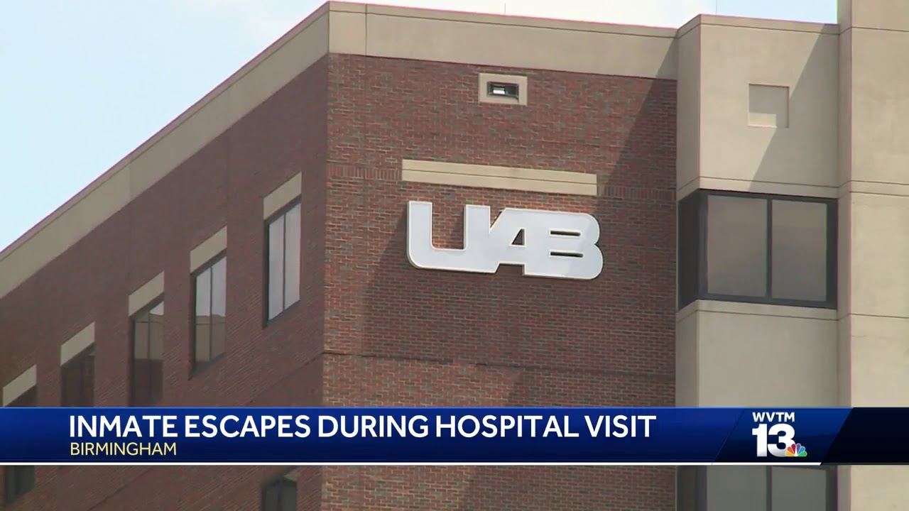 Questions surrounding inmate's escape at UAB Hospital