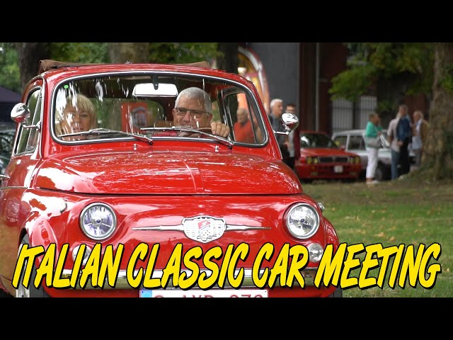 Italian Classic Car Meeting 2019 - By ICCB