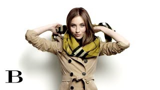 How to tie a Scarf – The Side Bow, from Burberry