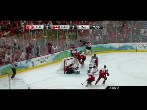 Top 10  Hockey Plays Of The 2010 Olympics (HD)