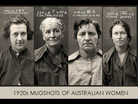 1920s Mugshots Of Australian Women - Photography