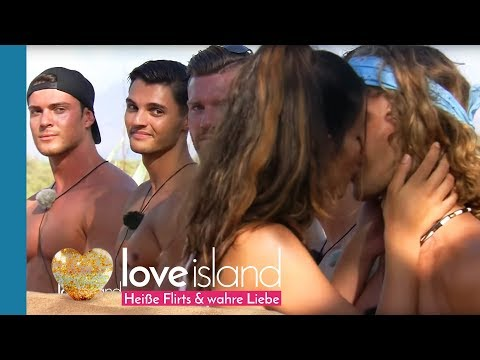 Die Islander gehen in der ersten Challenge auf Tuchfühlung | Love Island - Staffel 2