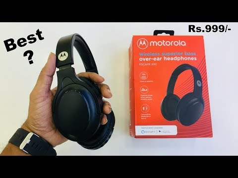Motorola Escape 200 Unboxing And Review In Hindi Is This Best 999 Youtube