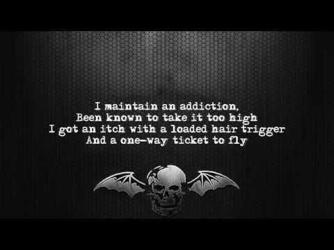 Avenged Sevenfold - Doing Time [Lyrics on screen] [Full HD]