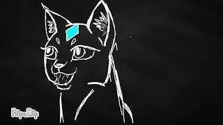 Эмоции кота. Анимация (FlipaClip)