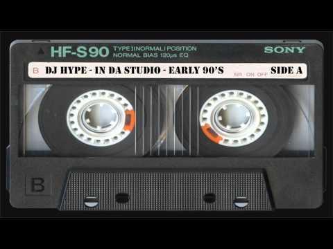 DJ HYPE IN DA STUDIO EARLY 90'S RARE!