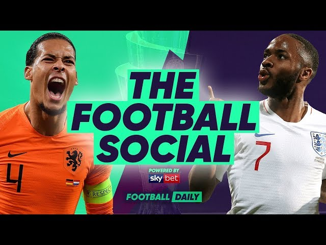 NETHERLANDS 3-1 ENGLAND | De Ligt Scores As England Crash Out! | #TheFootballSocial