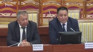 Исраилов не смог ответить на вопросы Текебаева