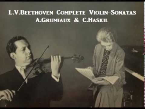 L.V.Beethoven Complete Violin-Sonatas [ A.Grumiaux & C.Haskil ] (1957)