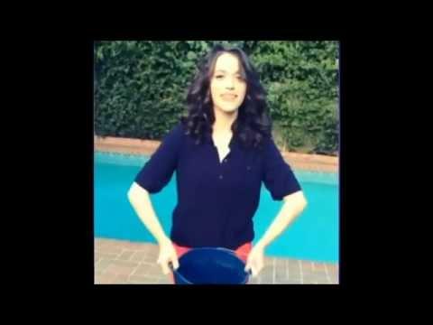 2 broke girls- Max and Caroline ice bucket challenge
