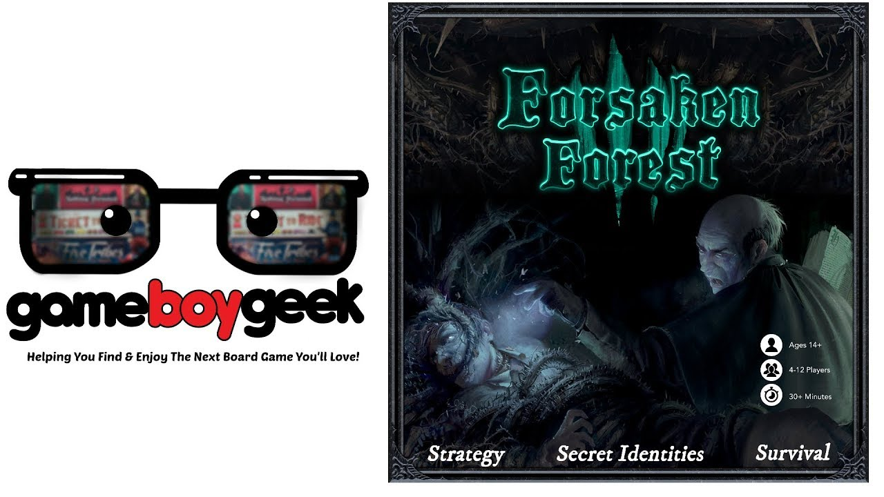Forsaken Forest Preview with the Game Boy Geek image