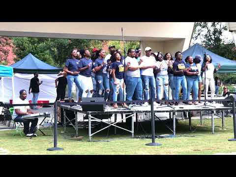 UNCG Gospel Choir at Colpfest