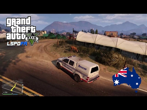 GTA 5 NSW Police Mod - Police Rescue Toyota Hilux (GTA 5 Police Mod for PC)