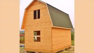 Дом из бруса 5,5х6 м.   Отзывы о компании Багров-Строй
