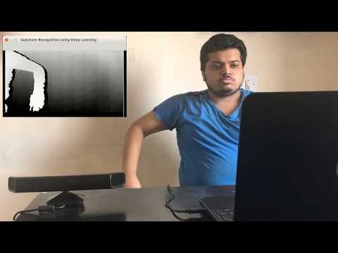 Gesture Recognition using Deep Learning