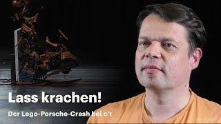 nachgehakt: Wie kam es zum Lego-Porsche-Crash der c