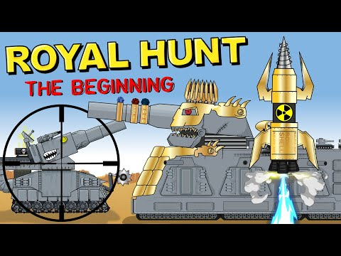 """""""Royal Hunt - The Beginning"""" - Cartoons about tanks"""