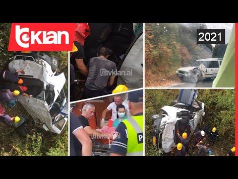 Download 5 viktima nga aksidenti ne Qafe-Muzine, nuk dihet ende gjendja e te mbijetuarve