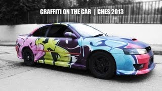 Graffiti on the car | Ches | 2013
