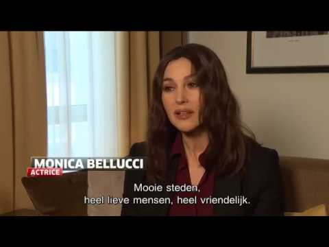 Monica Bellucci Onder Indruk Van België