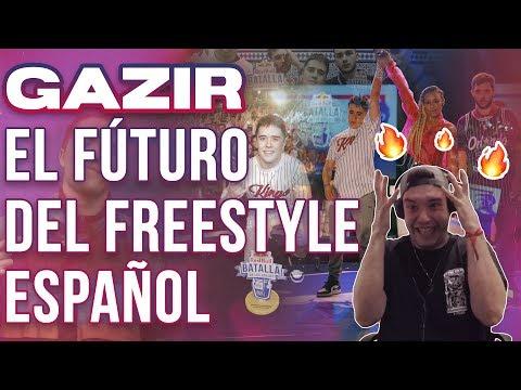 EL FUTURO DEL FREESTYLE ESPAÑOL - GAZIR EN LOS GALLOS DE ALICANTE *REACCIÓN EPICARDA*