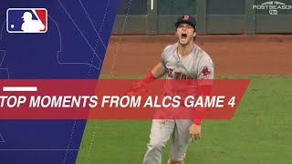 Top moments from a wild ALCS Game 4